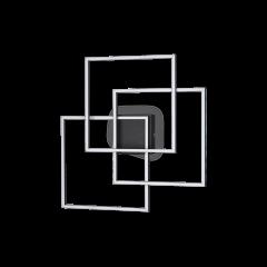 Plafoniera Frame Q nero