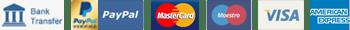 Payment acepeted pagamenti accettati